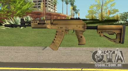 AK-17 Assault Rifle V2 para GTA San Andreas