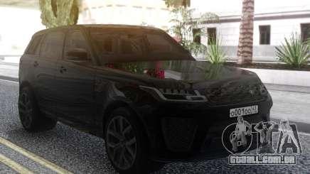 Land Rover Range Rover Sport SVR 2018 para GTA San Andreas
