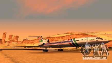 TU-154M da Companhia Aérea russa do Daguestão para GTA San Andreas