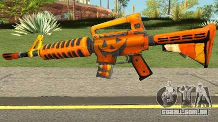 Fortnite Halloween M4 para GTA San Andreas