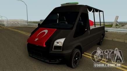 O Funeral De Mártires Ferramenta Ford Transit para GTA San Andreas