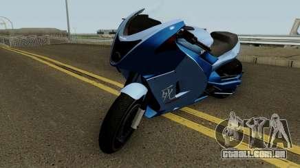 Shitzu Hakuchou Drag GTA V para GTA San Andreas
