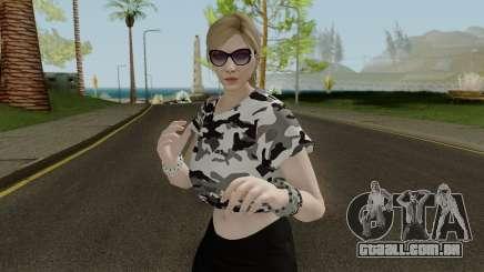 GTA Online Female Skin With Normal Map para GTA San Andreas