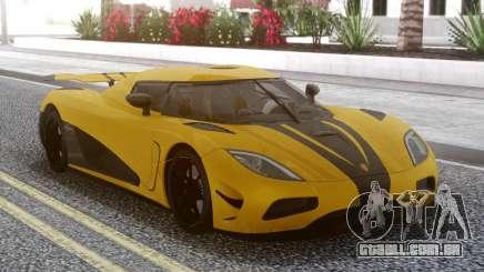 Koenigsegg Agera R Yellow para GTA San Andreas