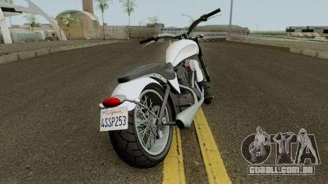 Nightblade from GTA 4 EFLC para GTA San Andreas