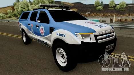 Ford Ranger 2014 CIPM Tabocas Do Brejo Velho para GTA San Andreas