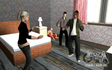 Festa em casa para GTA San Andreas