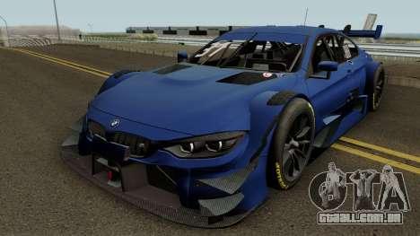 BMW M4 Driving Experience Racing 2017 para GTA San Andreas