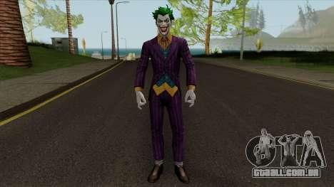 The Joker (Heroic) Skin From Dc Legends para GTA San Andreas