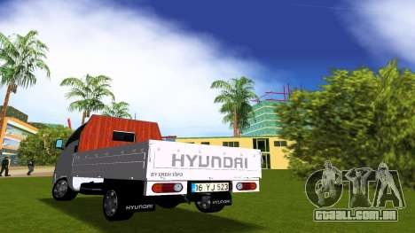Hyundai H100 para GTA Vice City