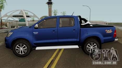 Toyota Hilux SRV 4x4 3.0 2015 para GTA San Andreas