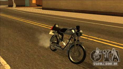 Famel XF-17 - português Motocicleta para GTA San Andreas