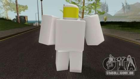 Roblox Noob para GTA San Andreas