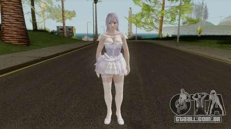 Fiona (Noble Tutu SSR) From DOAX Venus Vacation para GTA San Andreas