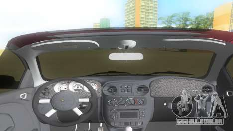 2004 Chrysler PT Cruiser GT para GTA Vice City