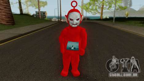 Billy Po Teletubbies para GTA San Andreas