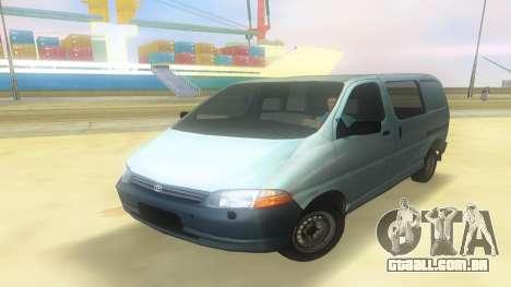 Toyota Granvia para GTA Vice City