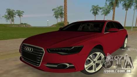 2014 Audi S6 Avant para GTA Vice City