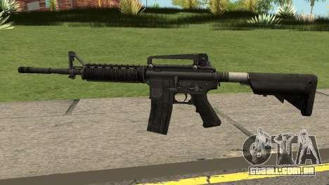 M4A1 WARFACE para GTA San Andreas