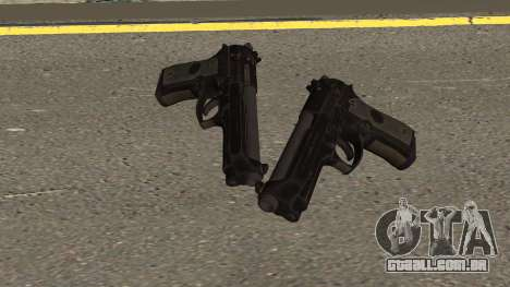 COD-MWR Beretta M9 para GTA San Andreas
