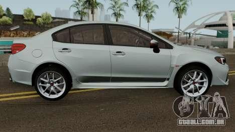 Subaru WRX STI 2016 para GTA San Andreas