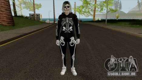 Female GTA Online Halloween Skin 1 para GTA San Andreas