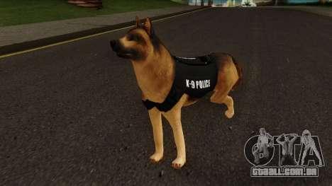 K9 Dog With Vest para GTA San Andreas