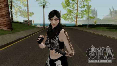 Female GTA Online Halloween Skin 2 para GTA San Andreas