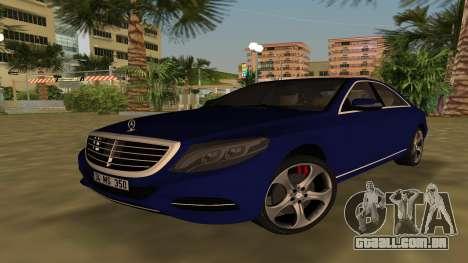 2015 Mercedes-Benz S350 Bluetec para GTA Vice City