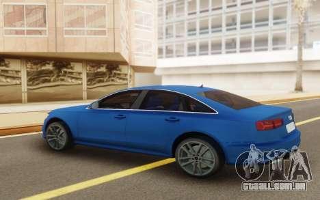 Audi A6 2017 para GTA San Andreas