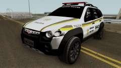 Fiat Palio Weekend Brazilian Police (Patamo) para GTA San Andreas