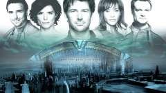 Tela de inicialização do Stargate: Atlantis para GTA San Andreas