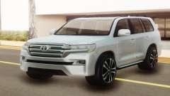 Toyota Land Cruiser 200 White Offroad para GTA San Andreas