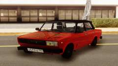 Vermelho VAZ 2107 Hobo para GTA San Andreas