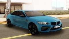 BMW M2 Blue para GTA San Andreas