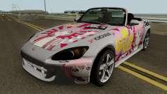 Honda S2000 Akari Yuru Yuri para GTA San Andreas