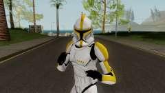 Clone Trooper Yellow (Star Wars The Clone Wars) para GTA San Andreas