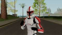 Clone Trooper Red (Star Wars The Clone Wars) para GTA San Andreas