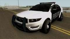 Ford Taurus Police (Interceptor style) 2012 para GTA San Andreas