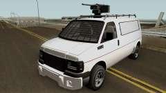 Vapid Speedo Custom And Armored GTA V IVF para GTA San Andreas