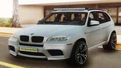 BMW X5M E70 White para GTA San Andreas