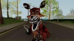 Nightmare Foxy (FNaF) para GTA San Andreas