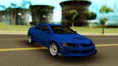 Mitsubishi Evolution 9 Blue para GTA San Andreas