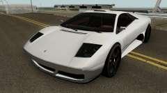 Lamborghini Murcielago LP640 Roadster 2005 para GTA San Andreas
