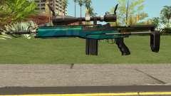 Rainbow Sniper Rifle para GTA San Andreas
