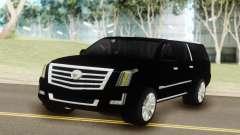 Cadillac Escalade Black para GTA San Andreas