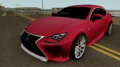 Lexus RC350 Coupe 2015 para GTA San Andreas