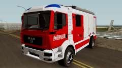 MAN TGA Pompierii (Romanian Firetruck) 2010 para GTA San Andreas