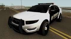 Ford Taurus Sheriff (Interceptor style) 2012 para GTA San Andreas