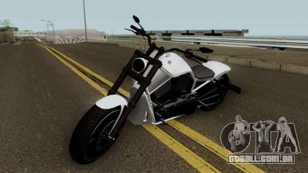 Western Motorcycle Nightblade GTA V HQ para GTA San Andreas